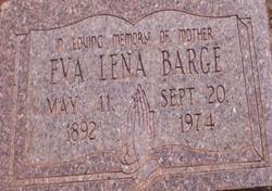 Eva Lena <i>Samford</i> Barge