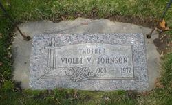 Violet Virginia <i>Metzger</i> Johnson