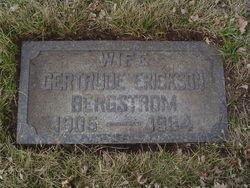 Gertrude Eleanor <i>Fresvold</i> Bergstrom