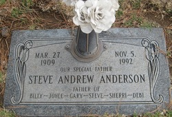 Steve Andrew Anderson