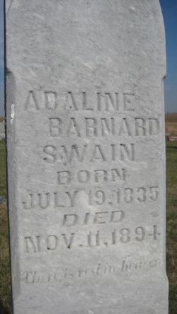Adaline S <i>Macy</i> Barnard Swain