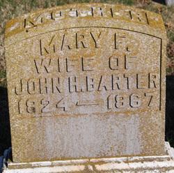 Mary F Barter
