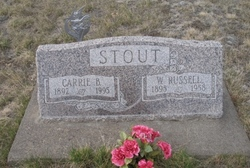 Carrie Belle <i>Peters</i> Stout