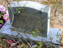 Mary Elizabeth Elizzie or Betty <i>Maxwell</i> Vaden