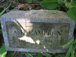 A D Cameron