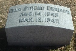Ella Halsted <i>Strong</i> Denison