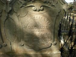 Mary Elizabeth <i>Gilchrist</i> Baker