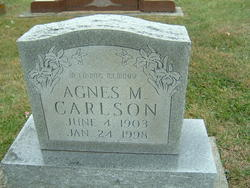 Agnes Marie <i>Hocker</i> Carlson