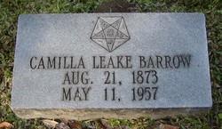 Camilla Mumford <i>Leake</i> Barrow
