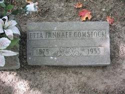 Etta <i>Fannaff</i> Comstock