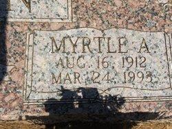 Myrtle Agnes <i>Barton</i> Brown