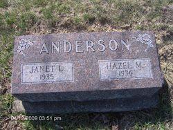 Hazel M. Anderson