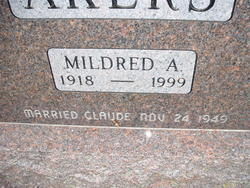 Mildred A. <i>Dolezal</i> Akers