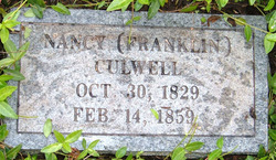 Nancy <i>Franklin</i> Culwell