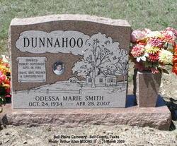 Odessa Marie <i>Smith</i> Dunnahoo