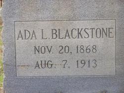 Ada Luella <i>Baird</i> Blackstone