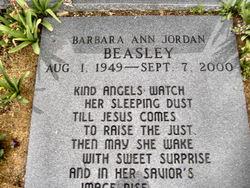 Barbara Ann <i>Jordan</i> Beasley