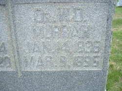 Dr William D Murrah