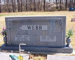 Beverly Jean <i>East</i> Webb