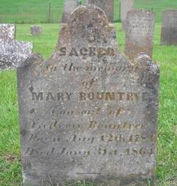 Mary <i>Robinson</i> Rountree