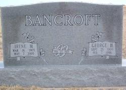 Irene M. <i>Heisten</i> Bancroft