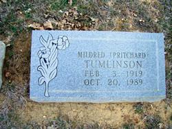 Gertrude Mildred <i>Pritchard</i> Tumlinson