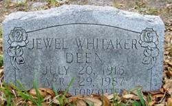 Jewel <i>Whitaker</i> Deen