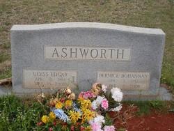 Bernice <i>Bohannon</i> Ashworth