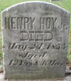 Henry Hoy, Jr