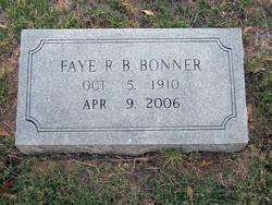 Maggie Faye <i>Retherford</i> Bonner