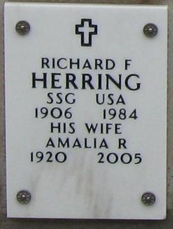 Sergeant Richard F Herring