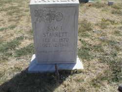 Samuel Franklin Starrett