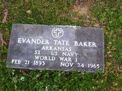 Evander Tate Baker