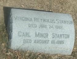 Carl Minor <i>Sulzbacher</i> Stanton