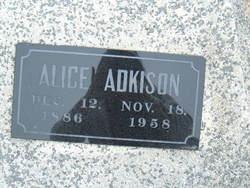 Clara Alice <i>Sneden</i> Adkison