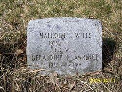 Geraldine Ruth <i>Lawrence</i> Wells