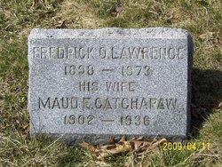 Maude Elizabeth <i>Catchapaw</i> Lawrence