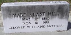 Mary <i>Keast</i> Hill