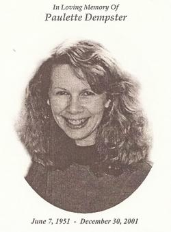 Paulette Elizabeth <i>Johnson</i> Dempster