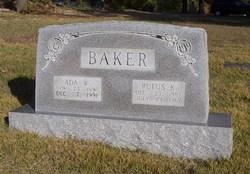 Ada Estelle <i>Wisner</i> Baker