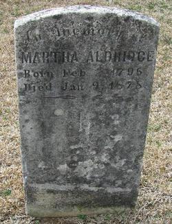 Martha Pattie <i>Graves</i> Aldridge