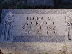 Flora Mae <i>Vaughan</i> Aderhold