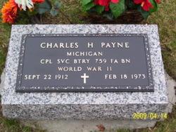 Charles Harvey Chuck Payne
