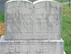 Rev A. Bolinger