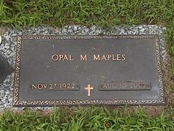 Opal Mae <i>Lowe</i> Maples