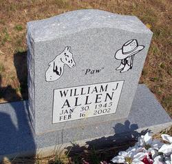 William J Paw Allen