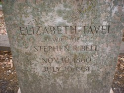 Elizabeth <i>Tavel</i> Bell