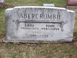Emma <i>Barber</i> Abercrombie
