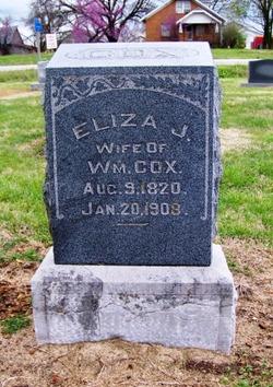 Eliza Jane <i>Templin</i> Cox