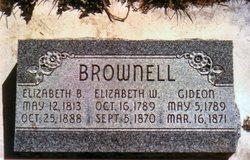 Elizabeth Betsey <i>Wheeler</i> Brownell